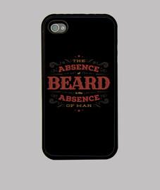 la falta de barba iphone 4