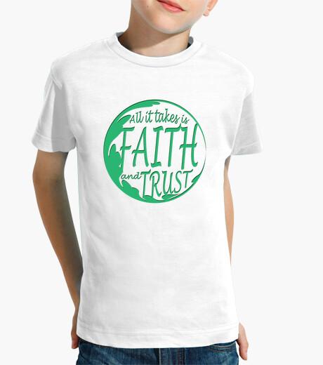 Ropa infantil la fe y la confianza