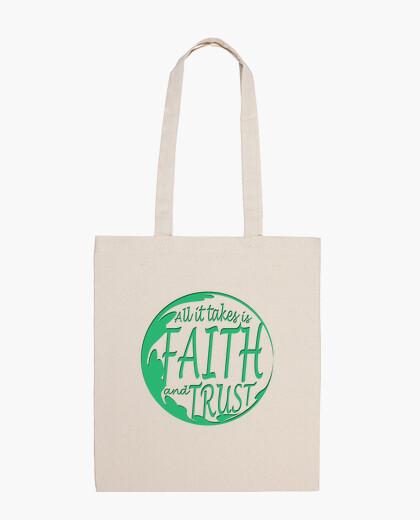 Bolsa la fe y la confianza
