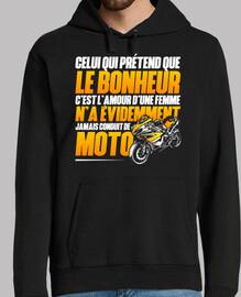 la felicidad de la motocicleta