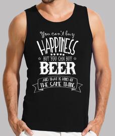la felicidad y la cerveza