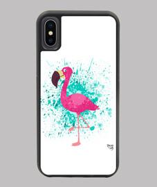 la flaminga en blanco - iphone x / xs