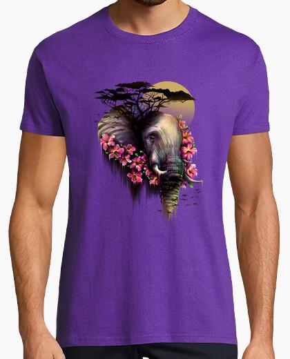 Camiseta la flor salvaje
