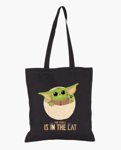 Sac la force est dans le chat