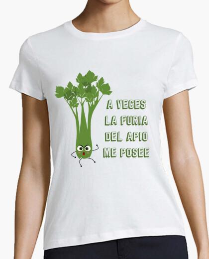 Camiseta LA FURIA DEL APIO