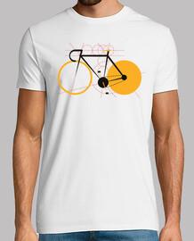 la géométrie d'une bicyclette