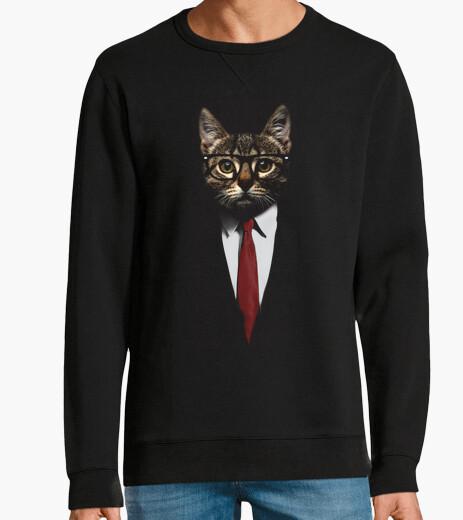 Felpa la giacca gatto
