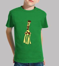 La girafa de la sabana