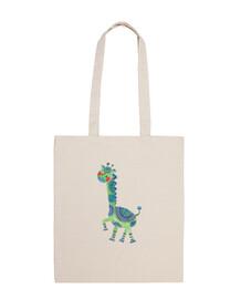 la girafe verte