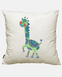 la giraffa verde