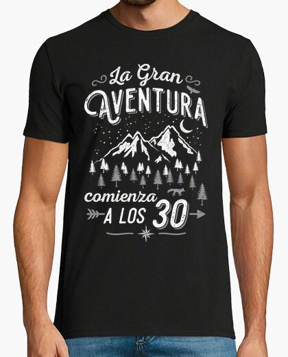 Camiseta La Gran Aventura comienza a los 30
