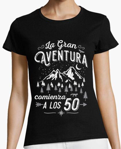 Camiseta La Gran Aventura comienza a los 50