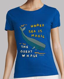 la gran ballena   las mujeres de manga corta