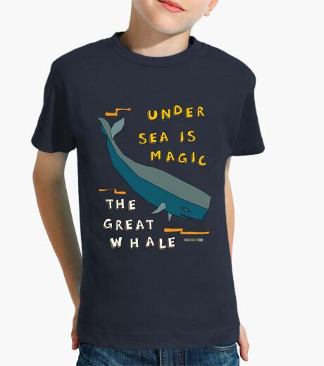 Ropa infantil la gran ballena | niños de manga corta