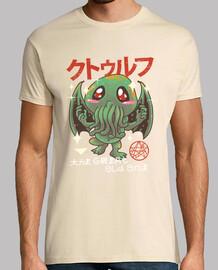 la gran camisa vieja del kawaii para hombre