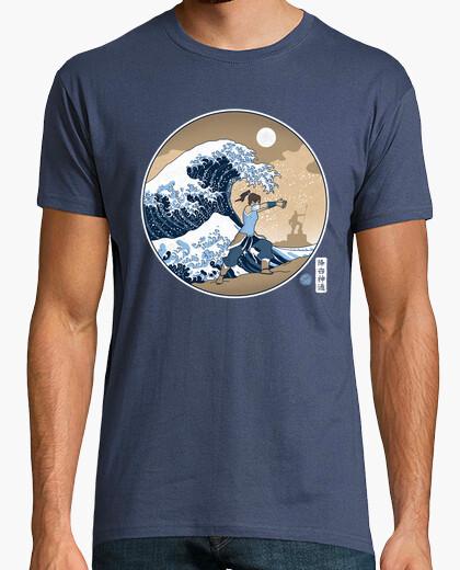 Camiseta la gran ola de la república de la ciudad