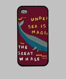 la grande baleine | couvrir iphone4 / 4s