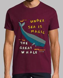 la grande baleine   hommes manches courtes