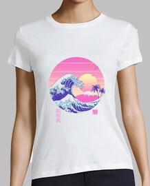 la grande chemise vaporwave femme