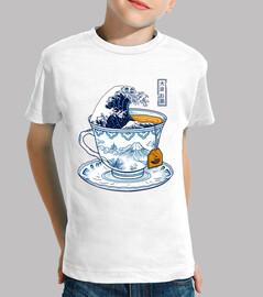 la grande maglietta kanagawa