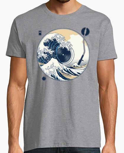 T-shirt la grande onda fuori dal suono