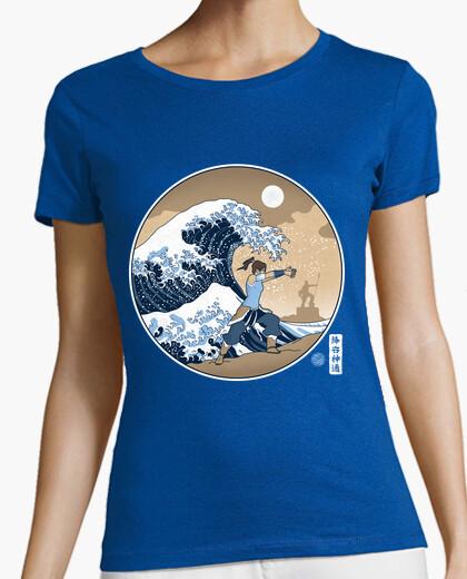 Tee-shirt la grande vague de la ville république