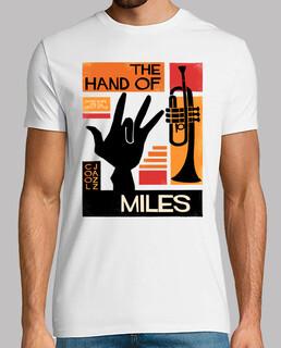la hand of miles davis