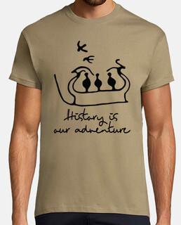 la historia es nuestra aventura