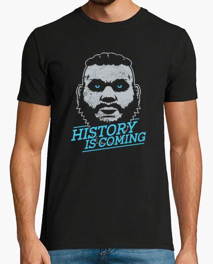 Camiseta la historia está llegando (tema blanco)
