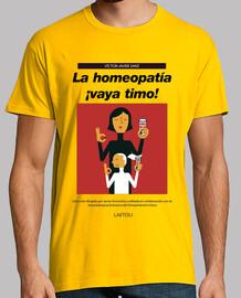 La homeopatía ¡Vaya timo! (Chico)