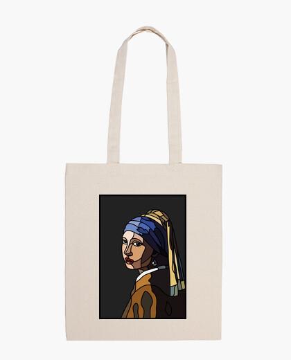 Bolsa La joven de la perla - MorganaArt