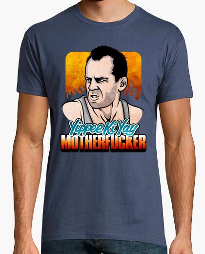 Camiseta La Jungla de Cristal: Yippee Ki Yay Motherfucker