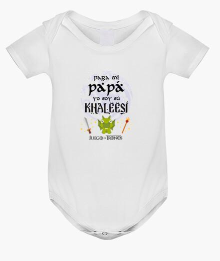 Ropa infantil La Khaleesi de papá - Juego de Tronos