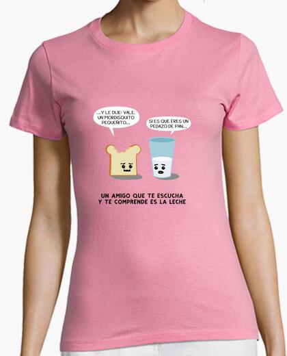 Camiseta La leche