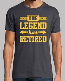 la légende a pris sa retraite