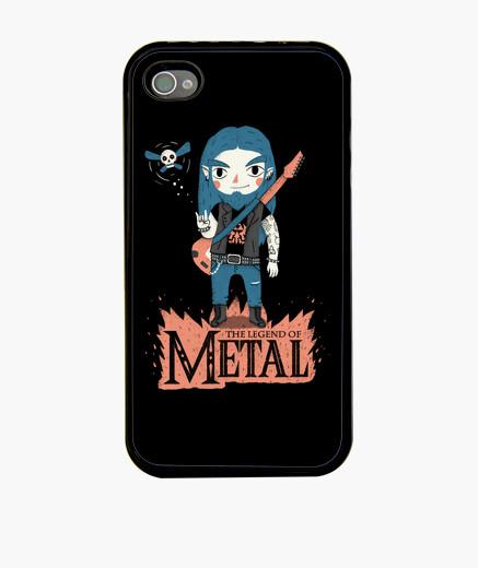 Coque iPhone la légende du métal