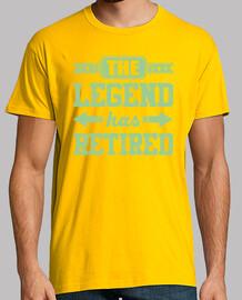 la leyenda se ha retirado