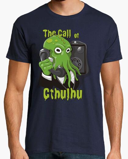 Camiseta la llamada de cthulhu