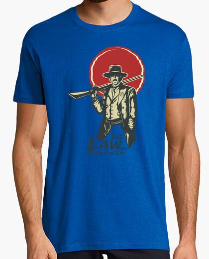 Tee-shirt la loi derrière le costume