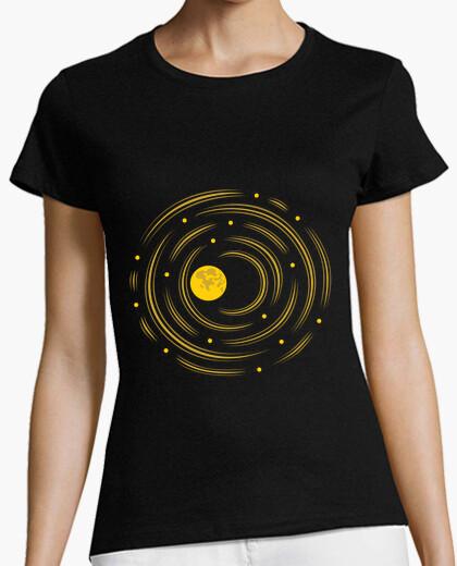 La luna y las estrellas sueñan camiseta