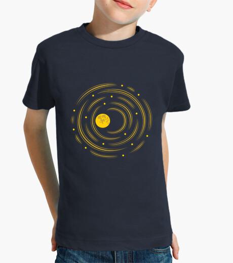Ropa infantil la luna y las estrellas sueñan los niños camiseta