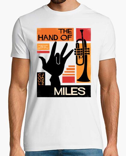 Tee-shirt la main de miles davis