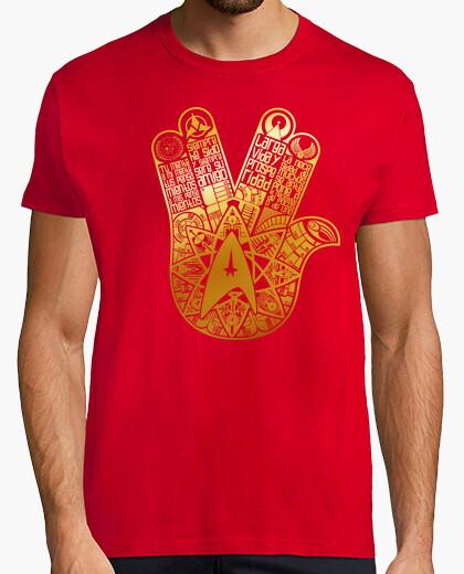 Camiseta La mano de Spock (Star Trek)