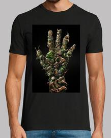 La mano zombi