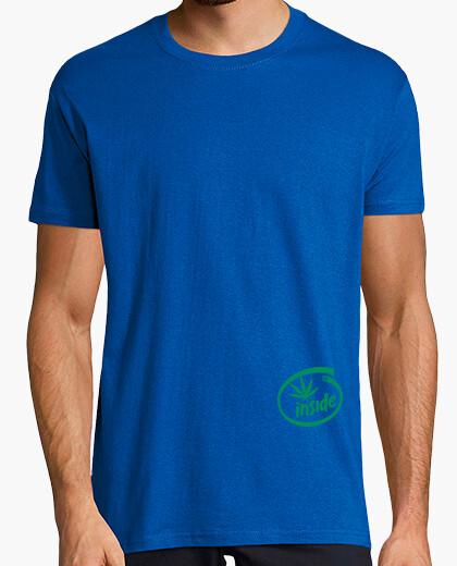 Tee-shirt la marijuana à l'intérieur