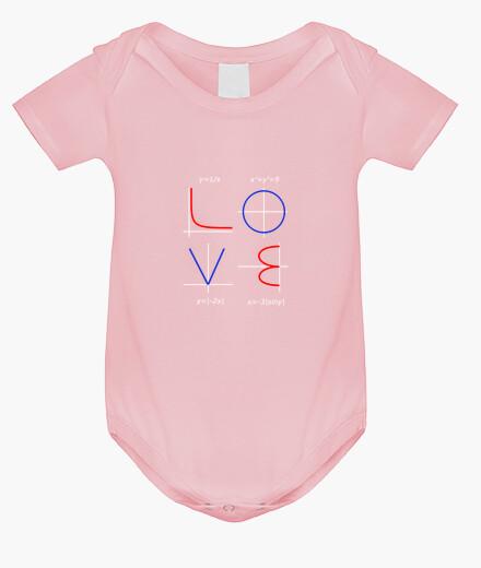Abbigliamento bambino la matematica divertente amore