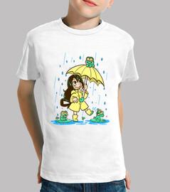 la meilleure grenouille - chemise pour enfants