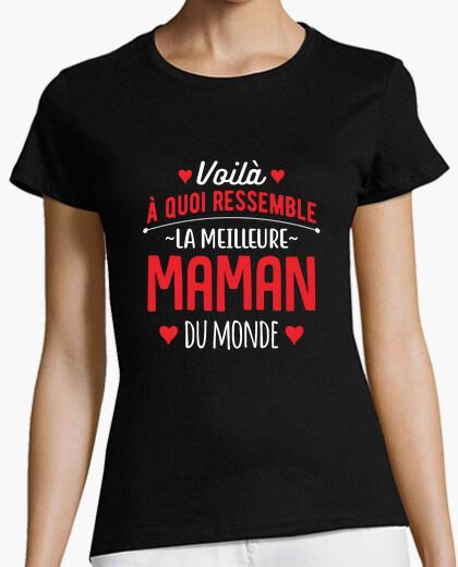 Tee-shirt La meilleure maman du monde cadeau