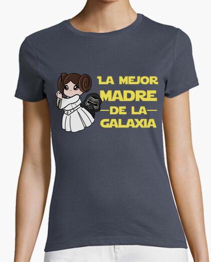 Camiseta La mejor madre de la galaxia
