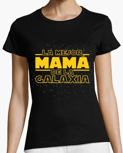 Camiseta La Mejor Mamá De La Galaxia